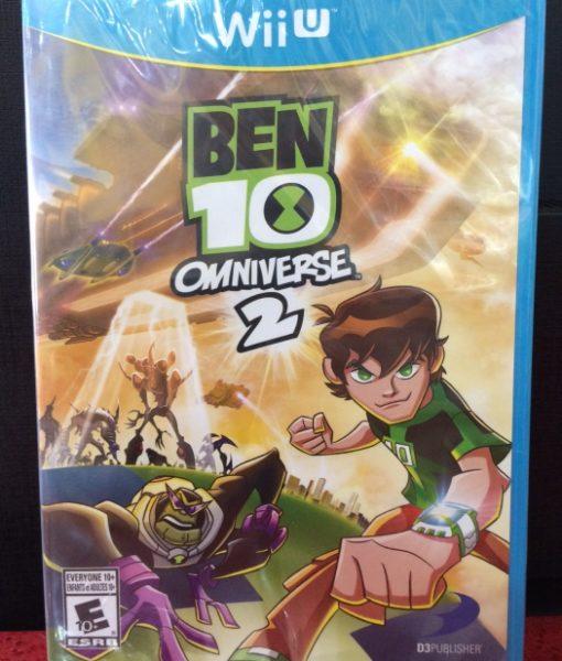 Wii U Ben 10 Omniverse 2 game