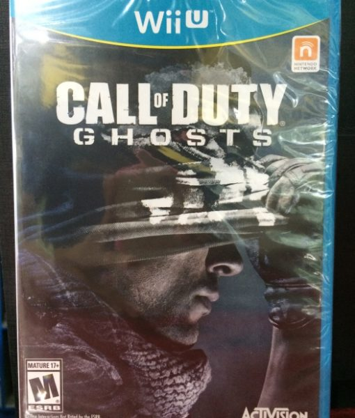 Wii U Call of Duty Ghosts game