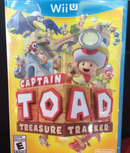 Wii U Captain Toad Treasure Tracker game