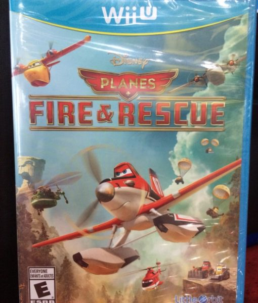 Wii U Disney Planes Fire and Rescue game