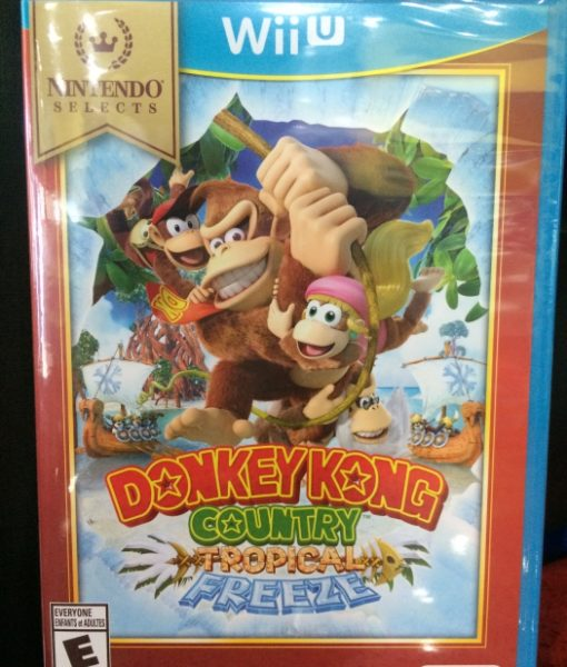 Wii U Donkey Kong Country Tropical Freeze game