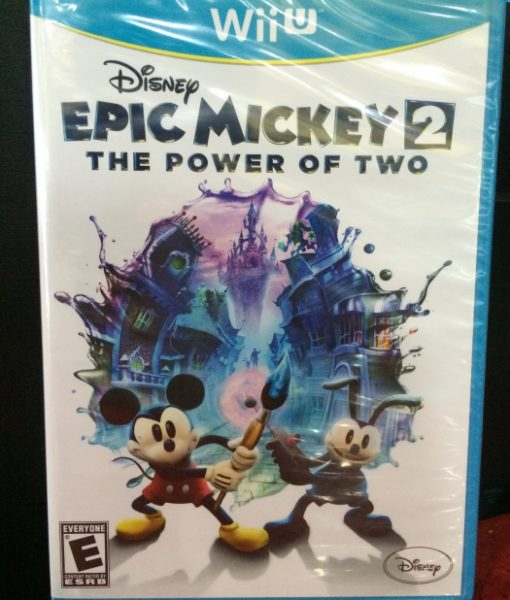 Wii U Epic Mickey 2 Power of Two game