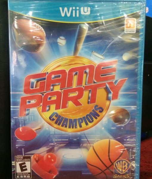 Wii U Game Party Champions game