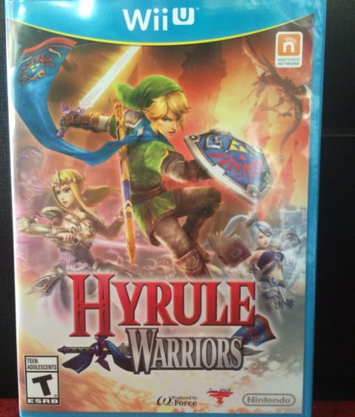 Wii U Hyrule Warriors game