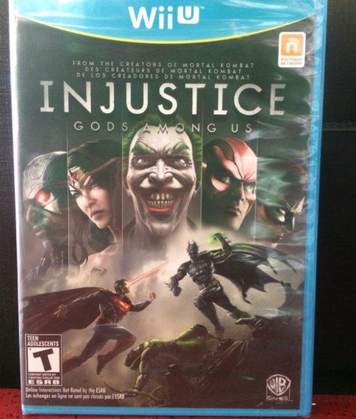 Wii U Injustice game