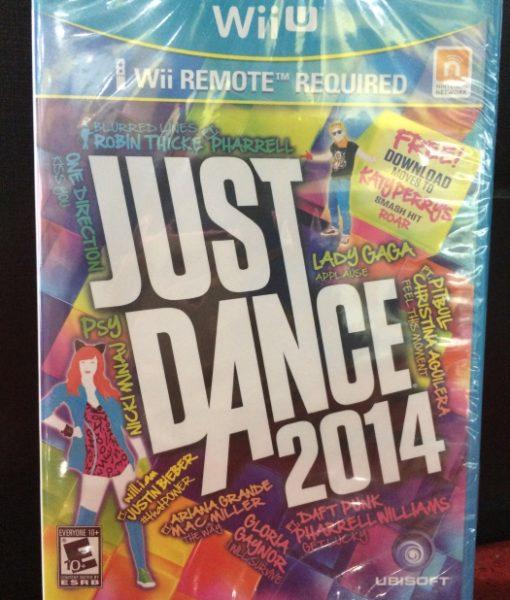 Wii U Just Dance 2014 game