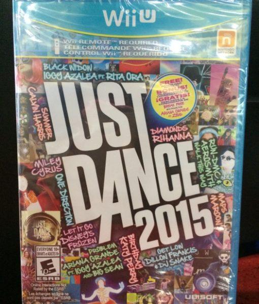Wii U Just Dance 2015 game