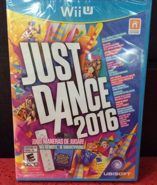 Wii U Just Dance 2016 game
