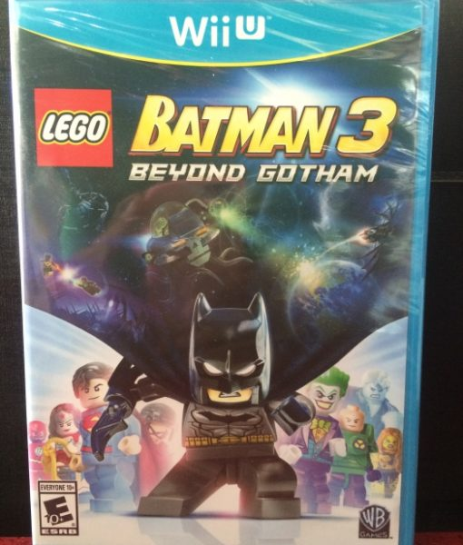 Wii U LEGO Batman 3 Beyond Gotham game