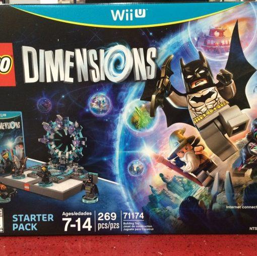 Wii U LEGO Dimensions Starter Pack game