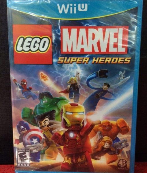 Wii U Lego Marvel Super Heroes game