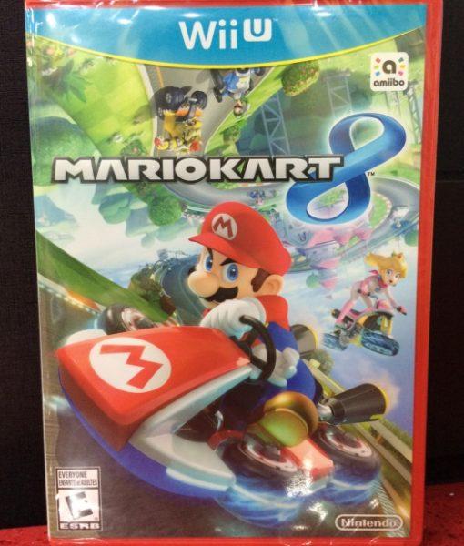 Wii U Mario Kart 8 game