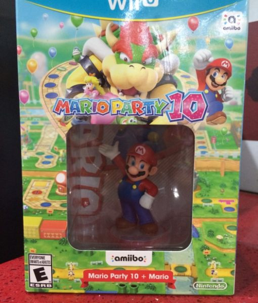 Wii U Mario Party 10 Amiibo Limited game