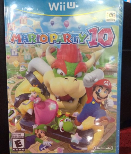 Wii U Mario Party 10 Standar game