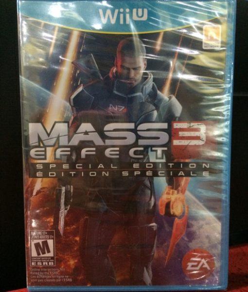 Wii U Mass Effect 3 game