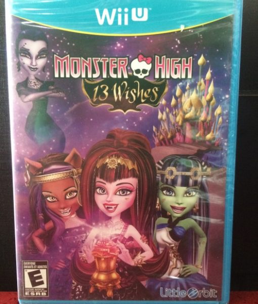 Wii U Monster High 13 Wished game