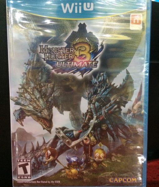 Wii U Monster Hunter 3 Ultimate game