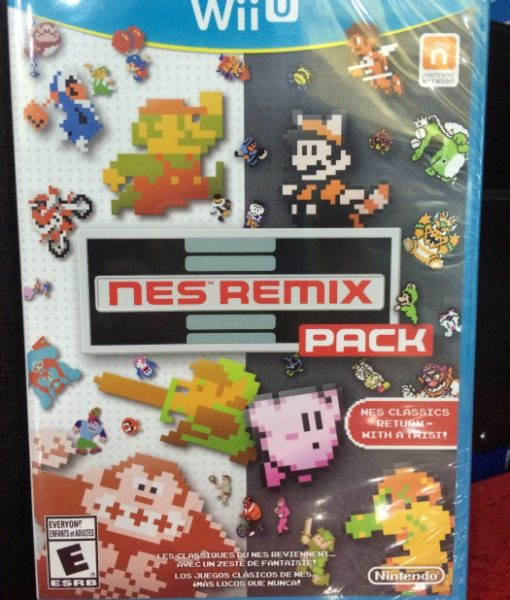 Wii U NES Remix Pack game