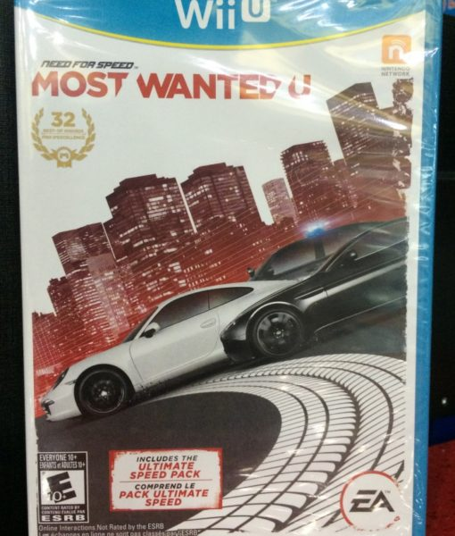 Wii U Need for Speed Most Wanted U game
