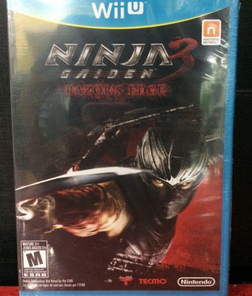 Wii U Ninja Gaiden 3 game