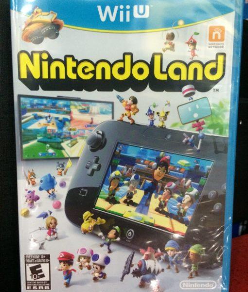 Wii U NintendoLand game