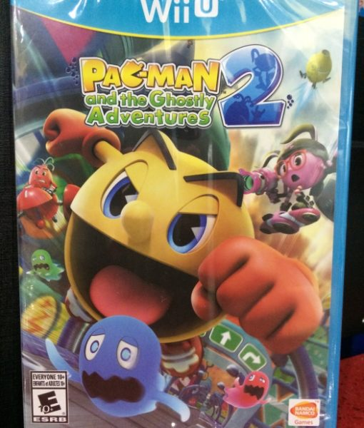 Wii U Pacman Ghostly Adventure 2 game