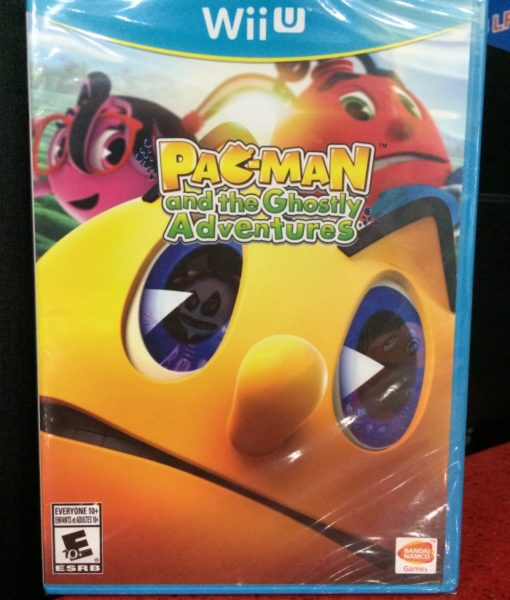 Wii U Pacman Ghostly Adventures game