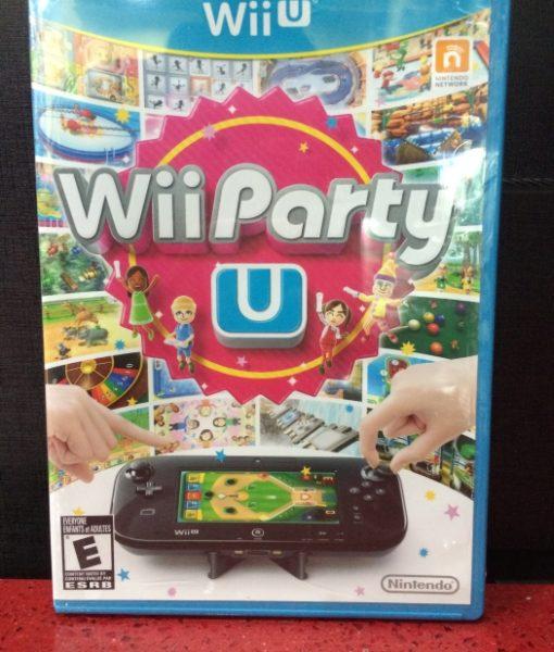 Wii U Party U game