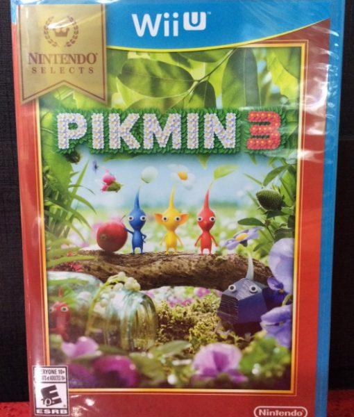 Wii U Pikmin 3 game