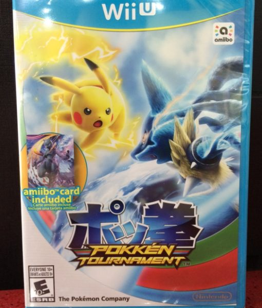 Wii U Pokken Tournament game
