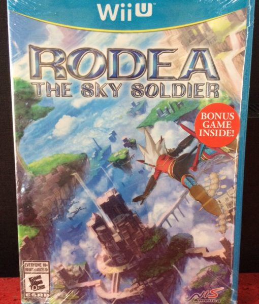 Wii U RODEA The Sky Soldier game