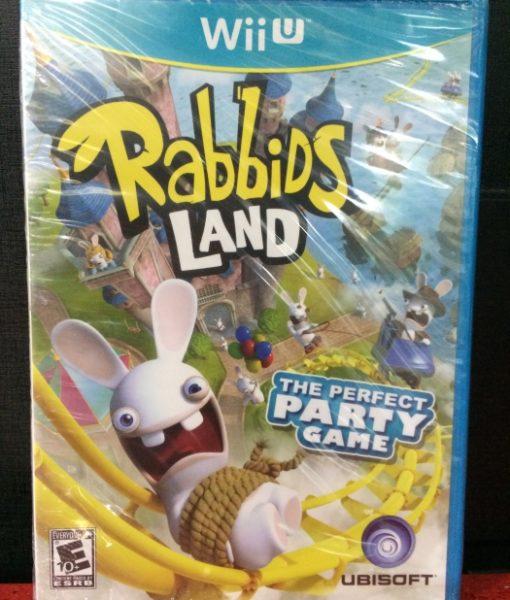 Wii U Rabbids Land game