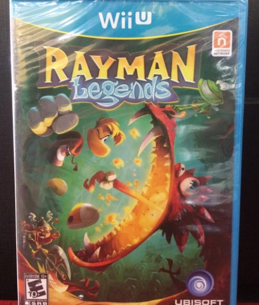 Wii U Rayman Legends game