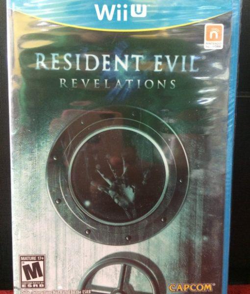 Wii U Resident Evil Revelations game
