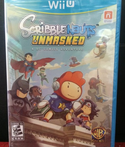 Wii U ScribbleNauts Unmasked game