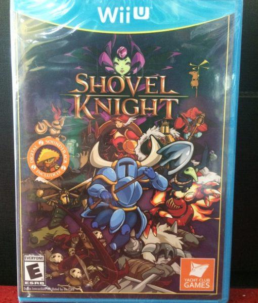 Wii U Shovel Knight game