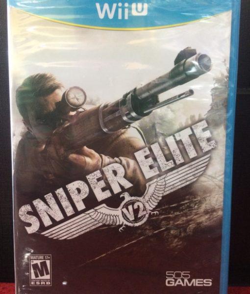 Wii U Sniper Elite V2 game
