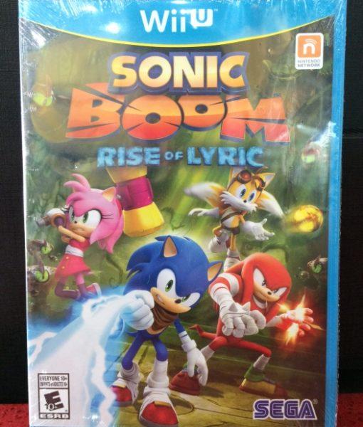 Wii U Sonic Boom Rise of Lyric game