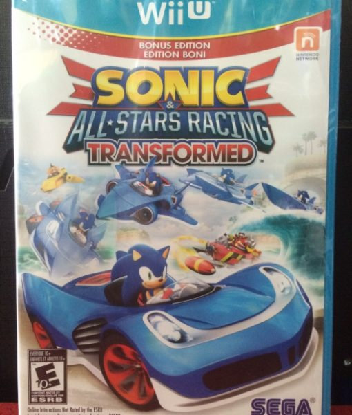 Wii U Sonic Stars Racing Transformed game
