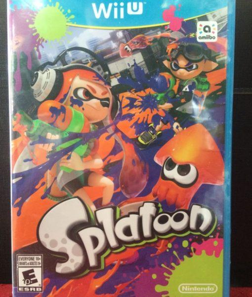 Wii U Splatoon game