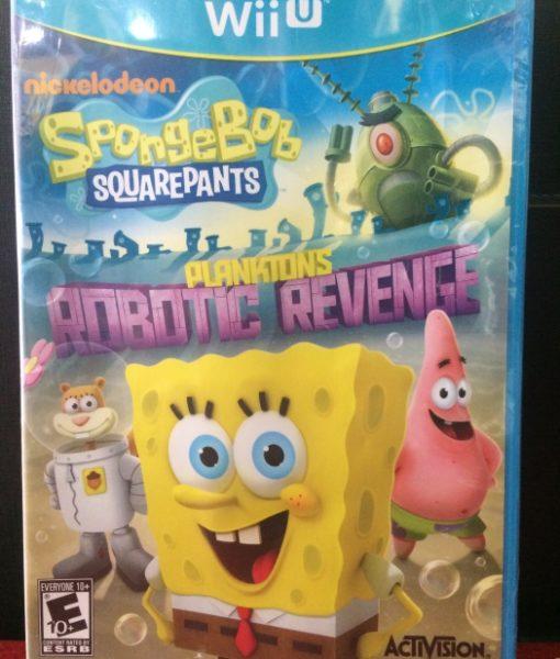 Wii U Spongebob Planktons Revenge game