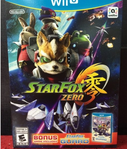 Wii U Star Fox Zero + Star Fox Guard game