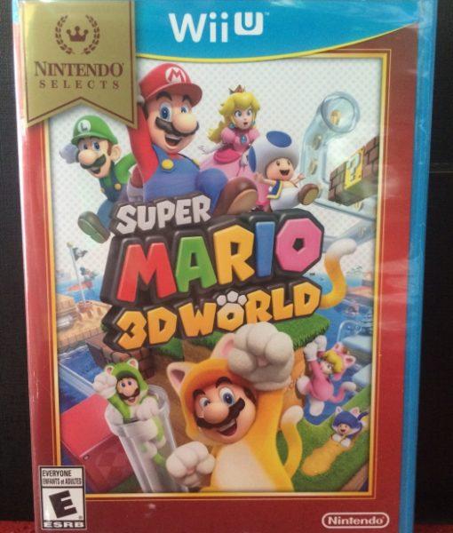 Wii U Super Mario 3D World game