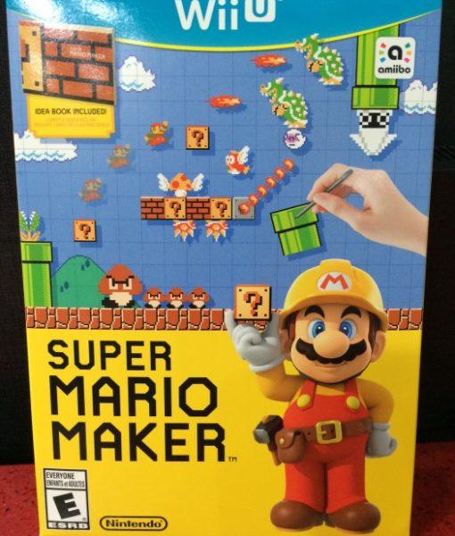 Wii U Super Mario Maker game