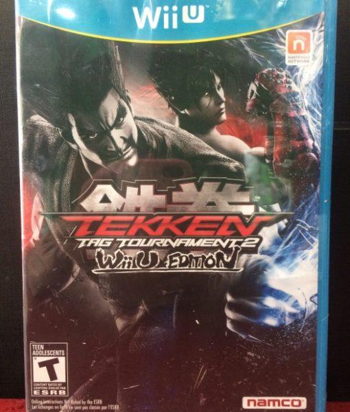 Wii U Tekken Tag Tournament game