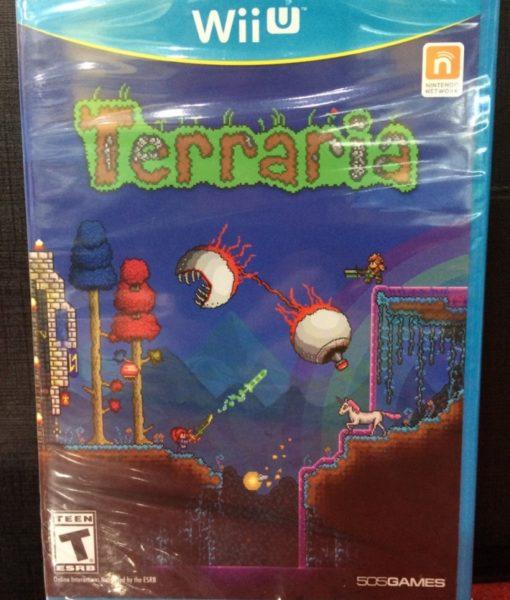 Wii U Terraria game