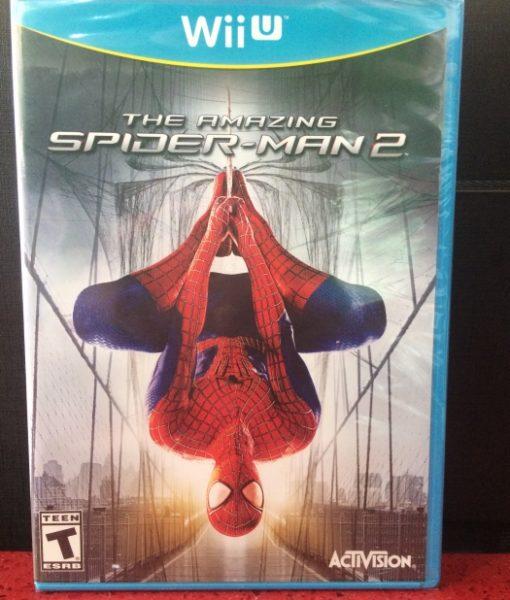 Wii U The Amazing Spiderman 2 game