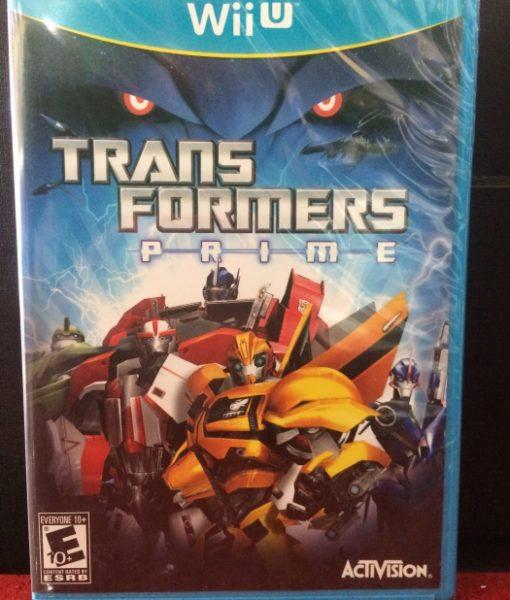 Wii U Transformers Prime game