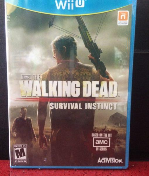Wii U Walking Dead Survival Instinct game