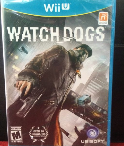 Wii U WatchDogs game